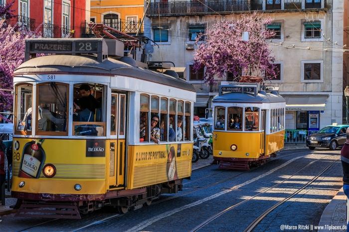 Die historische Tram E28