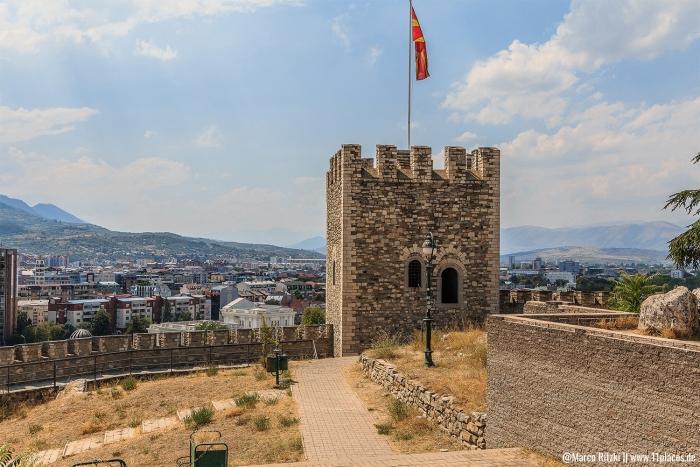 Kale Festung mit Ausblick auf Skopje