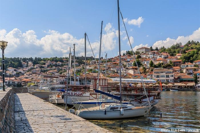 Hafen von Ohrid