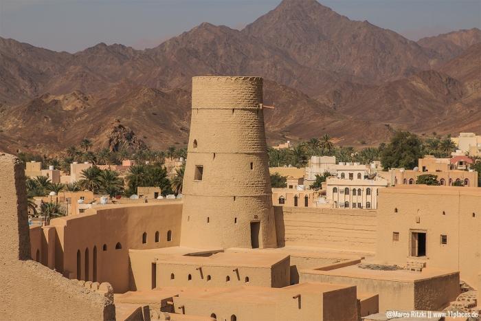 Turm vom UNSESCO Bahla Fort