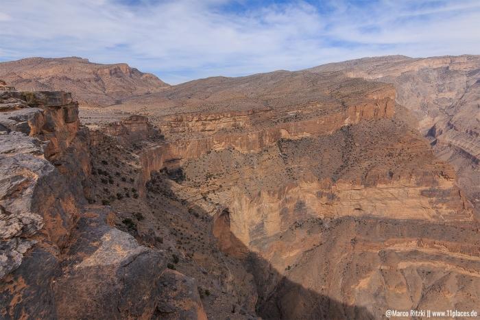 Schlucht des Jebel Shams