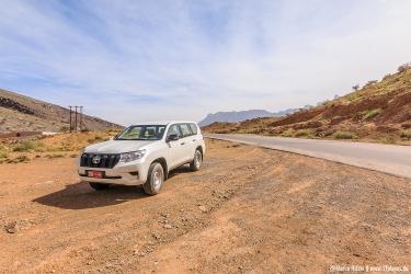 Geländefahrzeug für deinen Trip ins Hochgebirge