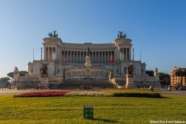 Monumento Nazionale Vittorio Emanuele (auch Schreibmaschine genannt)