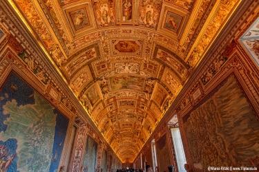 Faszinierende Deckenmalerei in den Vatikanischen Museen