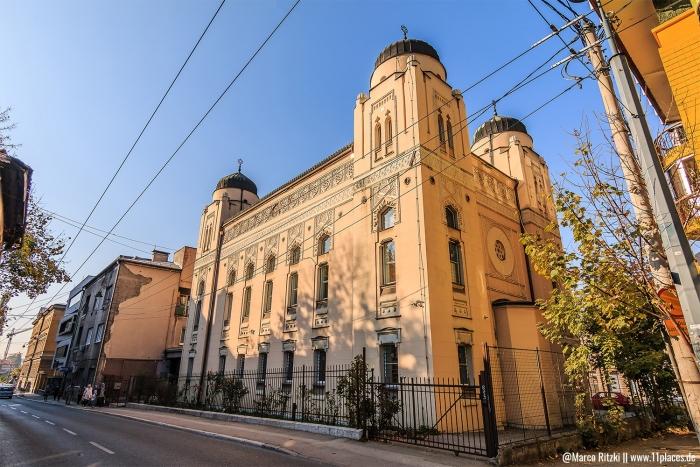Ashenazi Synagoge in Sarajevo