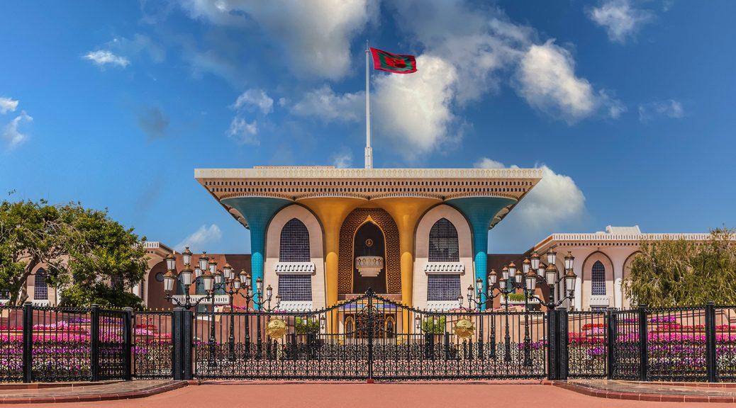 farbenfroher Sultanpalast